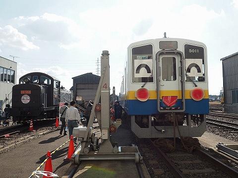 関東鉄道キハ5000形&DD502@水海道車両基地'18.11.3