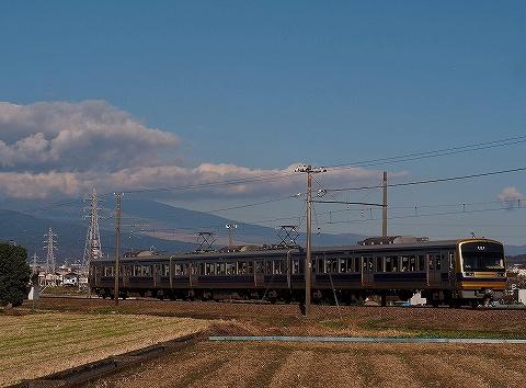 伊豆箱根鉄道7000系@三島二日町'18.11.23