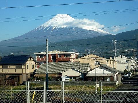 富士山@東海道本線車窓'18.12.14