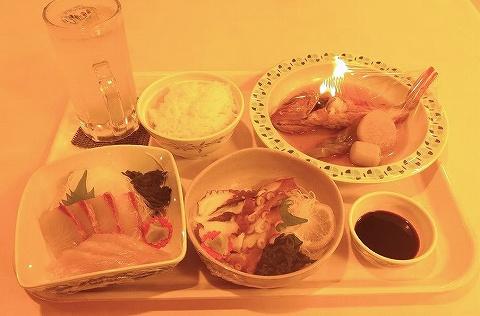 夕飯@阪九フェリーレストラン'18.12.14