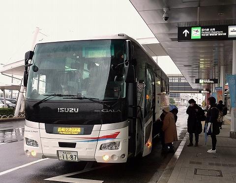 長崎バス@長崎空港'18.12.16