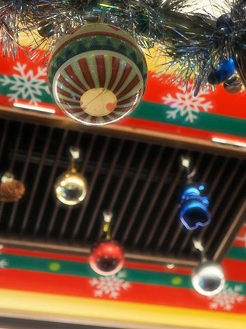 都電クリスマス号車内装飾'18.12.24