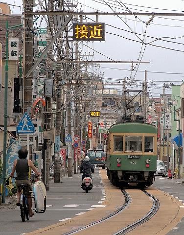 江ノ電300形@江ノ島'19.6.22