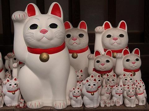 招き猫@豪徳寺'19.6.5