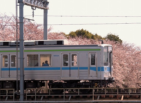 東武10000系@藤の牛島'20.3.25