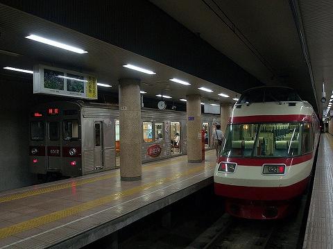 長野電鉄1000系&8500系@長野'20.8.8