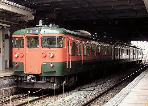しなの鉄道115系@長野'20.8.8