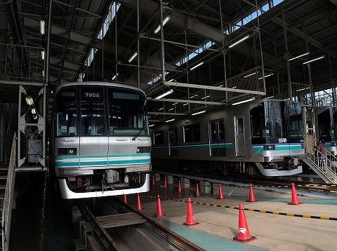 埼玉高速鉄道2000系&東京メトロ9000系@浦和美園車両基地'19.11.2