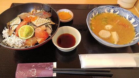 海鮮丼@ひみ番屋街'19.6.25