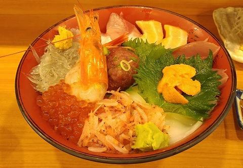 海鮮丼@魚河岸丸天'19.7.13