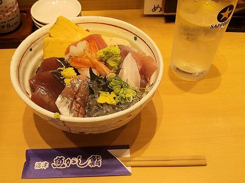 海鮮丼@沼津魚がし鮨'19.9.19