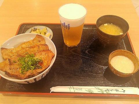炙り豚味噌丼@西武秩父駅前温泉祭の湯'19.10.14