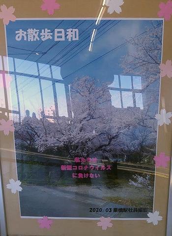 ポスター@栗橋'20.3.25