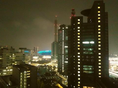 さいたま新都心の夜景@ラフレさいたま'20.11.2