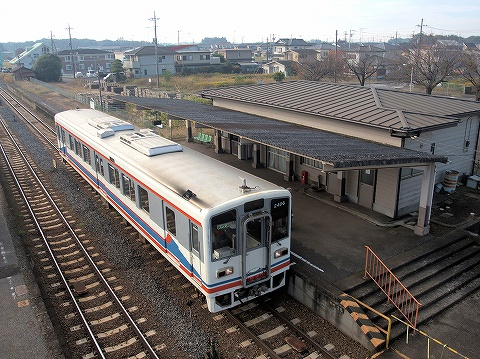 関東鉄道キハ2400形@大田郷'20.11.7
