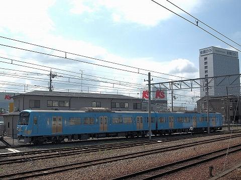 近江鉄道300形@彦根'20.8.1-1
