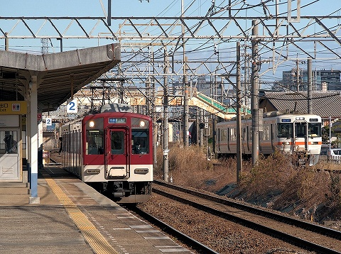 313系&近鉄1201系@益生'20.1.31