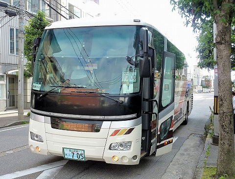 富山地鉄バス@高岡駅前'19.6.25
