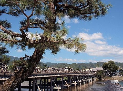 渡月橋@嵐山'19.9.15