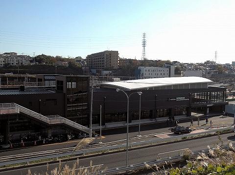 羽沢横浜国大駅舎'19.12.3