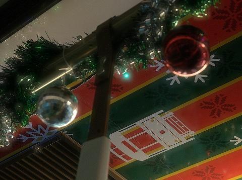 都電クリスマス号装飾'19.12.18