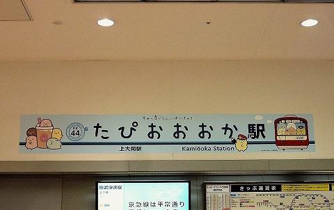 たぴおおおか駅名看板@上大岡'19.12.27