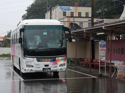 アルピコ交通バス@新島々'20.10.17